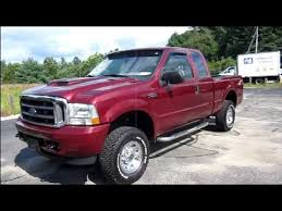 ford f250 2004 2004 ford f250 xlt duty start up exhaust engine in depth
