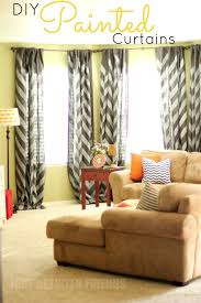 Diy Drapes Window Treatments Best 25 Painted Curtains Ideas On Pinterest Painting Curtains