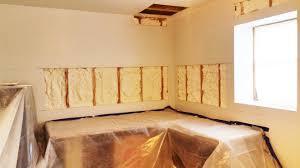 Spray Insulation For Basement Walls Retrofit Basement Exterior Walls Spray Foam Insulation Staten