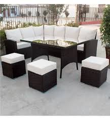 Curved Sofa Set Sofa Rattan Garden Furniture Sofa Dining Set Outdoor Sofa Lounge