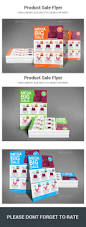 product sale flyer by sanaimran graphicriver