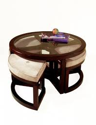 coffee table enchanting round ottoman coffee table upholstered