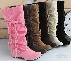 womens boots size 12 cheap best seller tassels nubbuck high heel boots for knee high