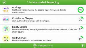 11 non verbal reasoning lite on the app store
