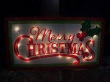 lighted merry christmas yard sign outdoor christmas decoration ebay