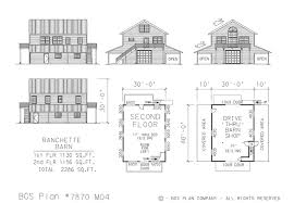 Barn Plans With Loft Apartment Barn Floor Plans U2013 Barn Plans Vip