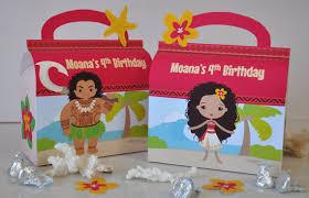 moana polynesian princess inspired favor box combo maui
