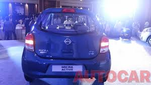 nissan micra active xv report u0026 pics nissan launches 2013 micra and micra active