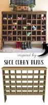 build your own shoe cubby with remodelaholic shoe cubby mail