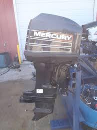 6m1b15 used 1995 mercury marine 40elpto 40hp outboard boat motor