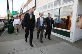 slideshow gov charlie baker in danvers gallery salemnews com