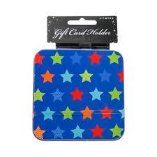 gift card tin gift card holder tin