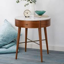 Tall Bedside Tables by Penelope Bedside Table West Elm Uk