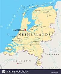netherlands map netherlands amsterdam rotterdam map atlas map of the