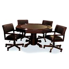 Poker Table Chairs With Casters by Accessories Charming Dining Room Chairs Casters Home Design