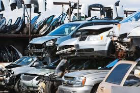 wrecked car transparent car recycling statistics and facts