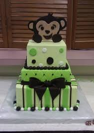 18 best baby shower cakes images on pinterest monkey baby