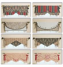 Patterns For Curtain Valances Window Valance Curtains Patterns And Styles Decor New