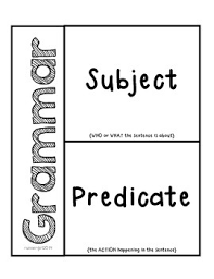 grammar subjects u0026 predicates activity for interactive notebooks