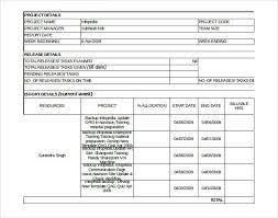 project progress report template sample project status report