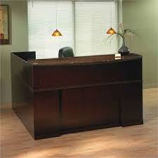 Sorrento Desk Reception Desks Cymax Stores