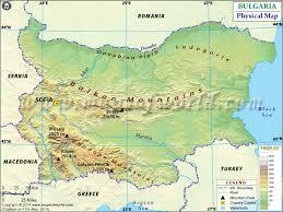 physical map of belgium map of bulgaria