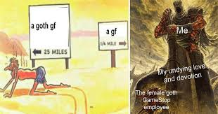 Gf Meme - memebase goth gf all your memes in our base funny memes