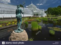 Phipps Conservatory Botanical Gardens by Neptune Statue Aquatic Garden Phipps Victorian Conservatory Lord