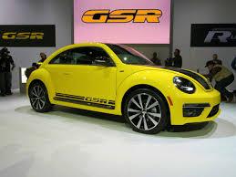 the original volkswagen beetle gsr 2014 volkswagen beetle gsr limited to 3 500 units wemotor com