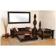 Wooden Sofa Set Designs With Price Induscraft Sheesham Wooden 4 Seater Sofa Set Sofas Homeshop18