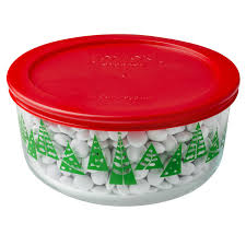 pyrex simply store 4 cup green tree storage