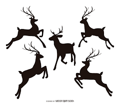reindeer vector u0026 graphics to download