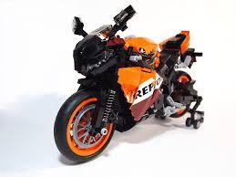 lego technic motocross bike lego ideas honda cbr1000rr repsol version