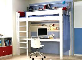 lit mezzanine avec bureau intégré lit mezzanine 1 place bureau integre affordable lit mezzanine