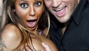 ouch mel b cuts off tattoo she made for ex stephen belafonte