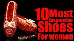 top 10 world u0027s most expensive shoes for women youtube