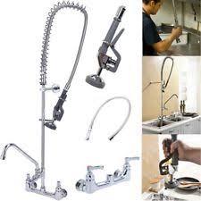 pre rinse kitchen faucet commercial faucet pre rinse ebay