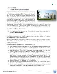 Universities As Multinational Enterprises The Multinational Lafarge Internationa Trade Niloy