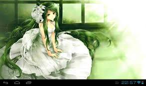 anime girl android live wallpaper anime princess live wallpaper free download of android version m