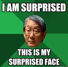 Surprised Meme Face - inspirational surprised meme face i am surprised this is my