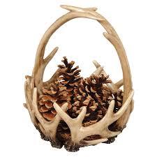 Blackforest Decor Antler Basket
