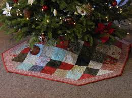 free quilted tree skirt pattern finished