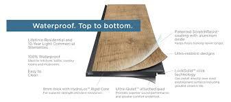 anatomy of adura max luxury vinyl plank