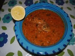 cuisine tunisienne poisson recette soupe de poisson chorba frik au poisson