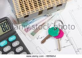 House Building Calculator House Building Calculator Stock Photo Royalty Free Image