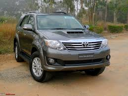 toyota new review 2011 toyota fortuner 4x2 mt u0026 at team bhp