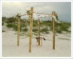 bamboo wedding arch wedding arch rentals new smyrna florist pink flamingo at