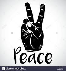 icon peace sign creative stock photos icon peace sign