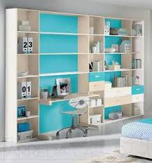 librerie camerette libreria per cameretta bambini con scrivania colori avorio