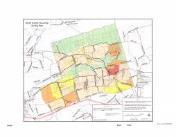 Pennsylvania On A Map by Code Enforcement Zoning North Centre Townshipcolumbia County Pa